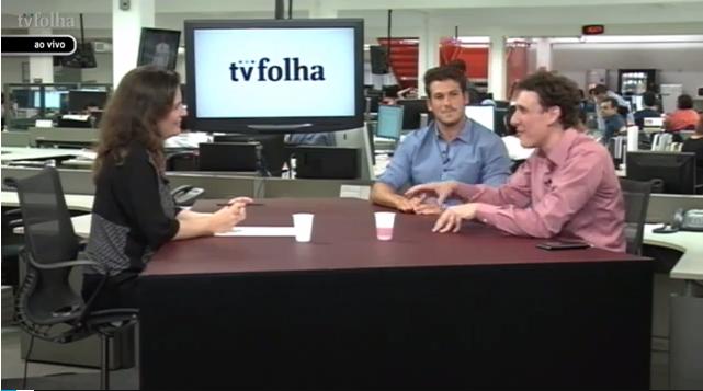 Oktoplus na mídia - TV Folha