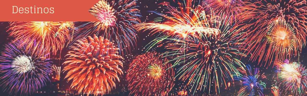 Destinos de Ano Novo: cotação em milhas de passagens e hotel nas cidades mais badaladas do país para passar a virada do ano!